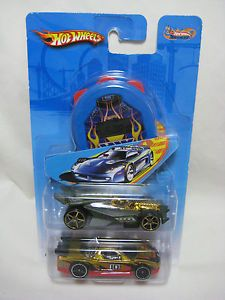 Acura NSX Hot Wheels Track Aces Two Pack Set Scale 1 64 Blue Stopwatch New