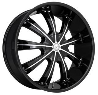 "24"" inch Land Range Rover HSE Black Wheels Rims 5x120"