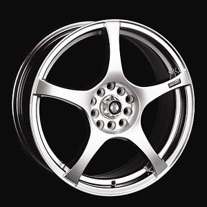 "19"" Raze Wheels Rims Honda Accord Civic Integra Sentra Infiniti G20 4x100 4x114"