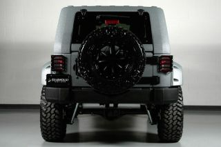 Starwood Custom Lifted Wheels Fastback Bentley Speed Leather Procomp Lift Winch