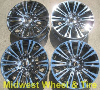 Original Chrysler 300 300C Wheels Rims Chrome Factory Stock Set 2420