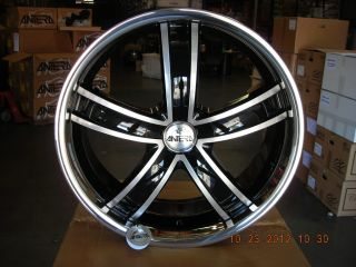"Brand New Set of Four 4 Antera Type 381 9x22"" Wheels for Bentley"