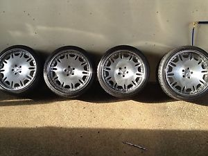 "20"" inch 3pc Wheels Rims and Tires Mercedes Audi Bentley Has THT Big Look"