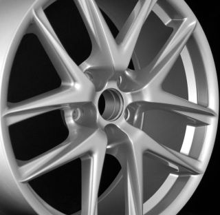 "19"" LFA Style Staggered Wheels 5x114 3 Silver Rim Fits Lexus IS300 IS250 Is350"