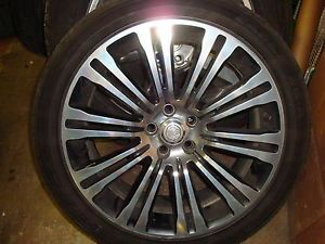 2011 12 Chrysler 300 s C 20 Polished Wheels Tires Factory Rims OEM 10 Spoke