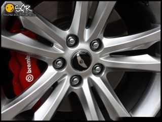 2010 Hyundai Genesis Coupe Wheel Cap Emblem Set