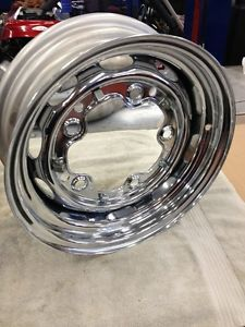 VW Volkswagen Bug Beetle Chrome Steel Mangel Wheel 15 x 5 1 2 5 Lug Rim Brazil