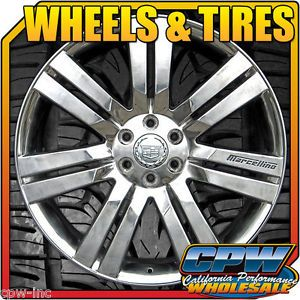"24"" inch Wheels Rims Tires Polished Aluminum for Cadillac Escalade ESV Ext 24S"