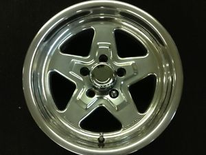 "American Racing Torqlite 15"" Ford Chrysler Polished Wheels Rims Weld Draglite"