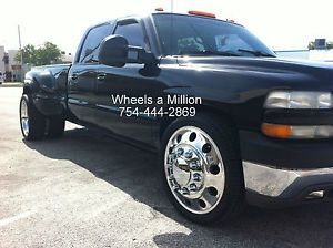 24 Dually Alcoa Big Holes Wheels Semi Ford Dodge Chevy Rims