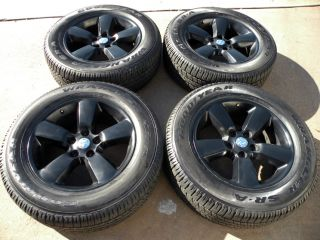 "20"" Factory Dodge RAM Wheels 1500 Goodyear Tires 2013 2014 Matte Black"