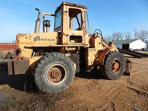 Fiat Allis 545B Wheel Loader