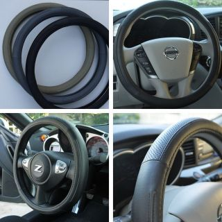 Circle Cool 57004 New Steering Wheel Cover Black Leather Fiat Wrap New BMW Audi