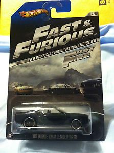 08 Dodge Challenger SRT8 Hot Wheels 2013 Fast and Furious