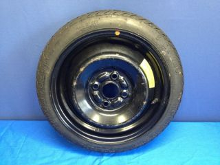 00 08 Hyundai Accent Spare Tire Compact Donut Wheel Steel Rim T105 70 D14
