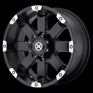17 inch Black Wheels Rims Dodge RAM 1500 Ford F150 E150 Truck 5x5 5 New ATX