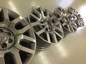 4 2013 Nissan Pathfinder Frontier Factory 18 Wheels Rims Charcoal 6x114 3