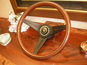 Jaguar XJS XJ12 1987 94 Nardi Wood Steering Wheel New Horn Push Boss