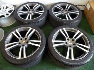 21 Factory Porsche Cayenne GTS Wheels s Turbo Tires Audi Q7 VW Touareg Alcoa