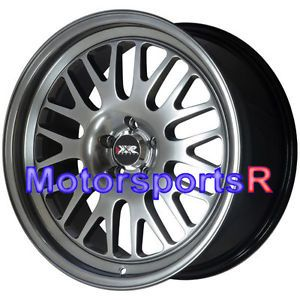 18 18x8 5 XXR 531 Chromium Black Wheels Rims 5x100 05 07 08 09 Scion TC Stance