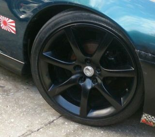 "Infinity G35 18"" Black Wheels"