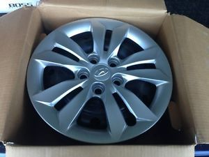 "2011 2012 2013 Hyundai Sonata Factory 16"" x 6 5"" Steel Wheels Rims w Covers"