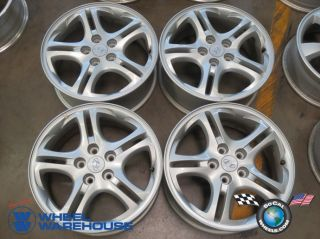 Four 03 06 Hyundai Tiburon Factory 17 Wheels Rims 70701