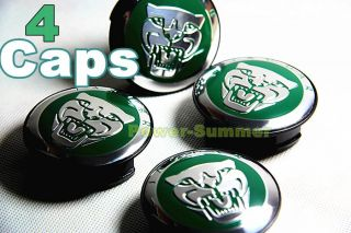 Green 1 Set 2 25 inch Jaguar Emblem Wheel Center Caps s Type x Type XK XF XK8
