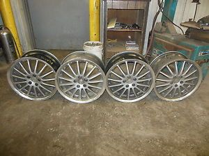 "4 Wheels TSW 18x8 5"" Alloy Wheels Aluminum 5 Lug Coventry Whitley Jaguar XJ"