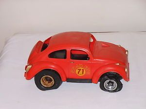 Cox Baja 71 Bug Volkswagen Beetle Gas Powered Toy Car for Parts Restoration