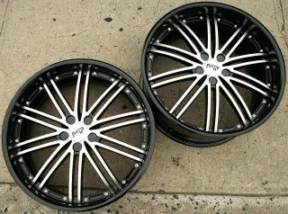 Niche Touring II M200 22 x 9 0 10 5 Black L2 Rims Wheels Jaguar XJ 04 Up 38