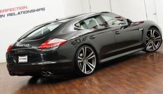 "22"" Porsche Panamera Turbo Style Wheels GTS 4 s II Gunmetal Tires Package Sport"