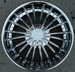 "RVM 487 22"" Chrome Rims Wheels Infiniti QX56 Armada"
