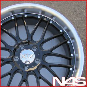 "20"" Infiniti G35 Sedan XIX Lago Black Wheels Rims"