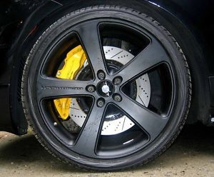 Gemballa Porsche Cayenne Black 22 inch Wheels and Tires