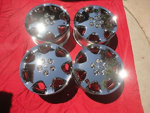 "17"" 4 New Lexus LS430 2001 2003 Chrome Wheels Rims 74159"