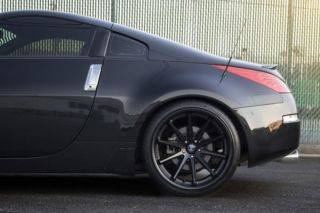 "20"" Nissan Maxima Rohana RC10 Deep Concave Black Staggered Wheels Rims"