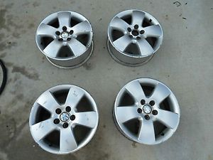 "1 Set 2003 Factory Volkswagen Jetta Rims 15"" Factory Rims Wheels"