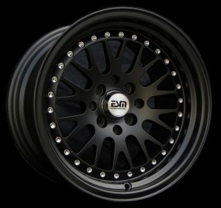 "15x8 15"" CCW Style Wheels Rims ESM 007 4x100x114 3 ET20 CB67 1 Scion XB"
