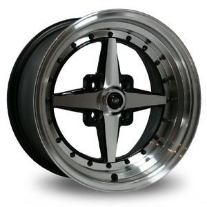 15 Rota Zero Plus Rims Wheels 15x8 20 4x100 BMW 2002 E30 Miata Scion XB