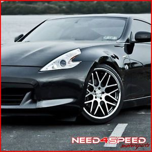 "20"" Nissan 370Z Vertini Magic Staggered Rims Wheels"