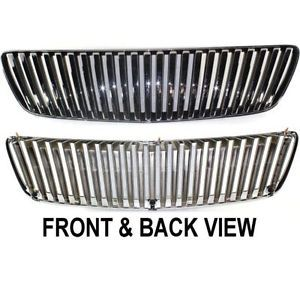New Grille Assembly Chrome Shell Black Insert Lexus RX300 2003 2002 2001 99 1999