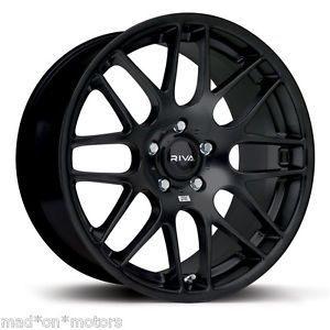 "19"" Black Mesh Alloy Wheels Fits VW Volkswagen Transporter T5 T32"