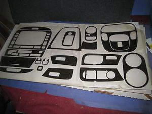 Jaguar x Type Wood Dash Trim Kit Parts Black Navigation 5 Speed 51w