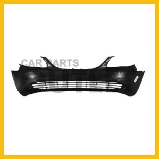 2001 2004 Chrysler Town Country Front Bumper Cover No Primered Raw Black Plastic