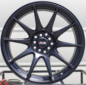 18x8 75 XXR 527 5x114 3 20 Flat Black Wheel Fit Scion Fr s Subaru BRZ Scion TC