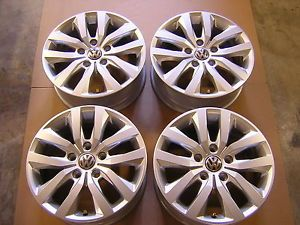 "2012 VW Volkswagen Routan 17"" Factory Alloy Wheels Rims Set 69938"