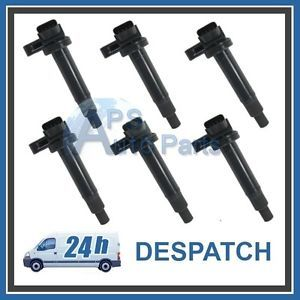 Lexus 9091902230 IS200 GS430 IS300 LS430 SC430 Ignition Coil Pack Pencil x 6 Set