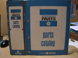 1964 Chrysler Dodge Plymouth Mopar Parts Manual Dart Belvedere Imperial Fury 300