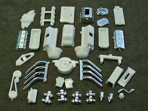 1 25 Scale Model Car Parts Junk Yard Chrysler Hemi Engine Vintage Drag Style